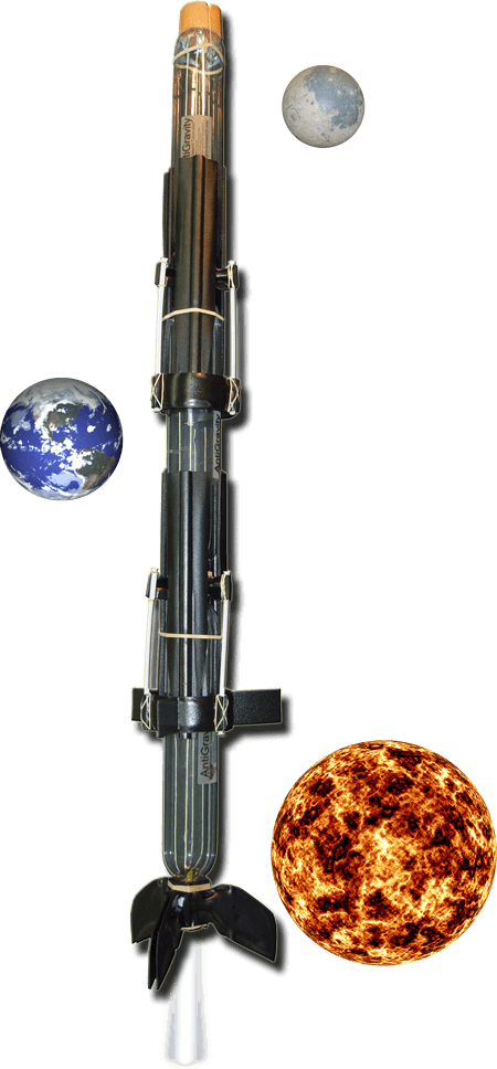 Extreme 3-Stage Water Rocket from AntiGravity Research Corporation