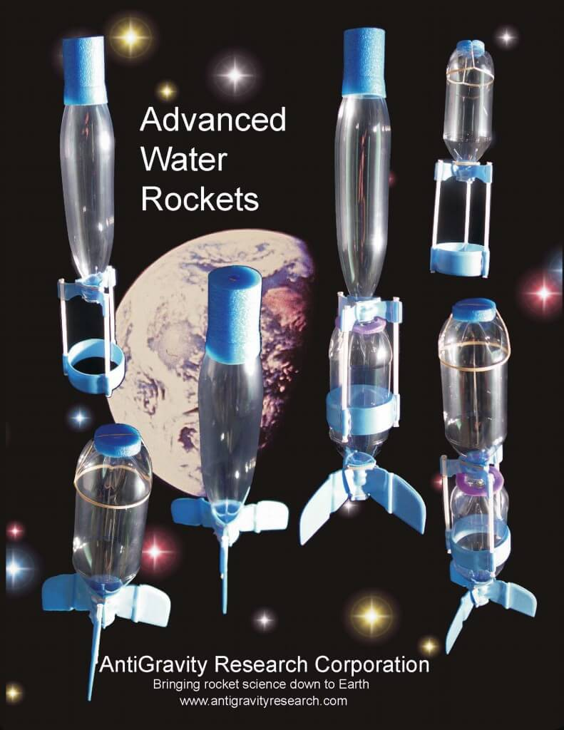 The Rocket Book  -  All about Water Rockets / Pop Bottle Rockets  -  from AntiGravity Research Corporation